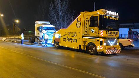 tractari camioane
